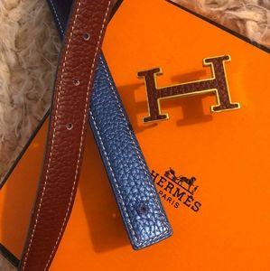 Hermes 32mm reversible Belt